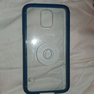 Accessories - Samsung galaxy S5 phone case blue and clear